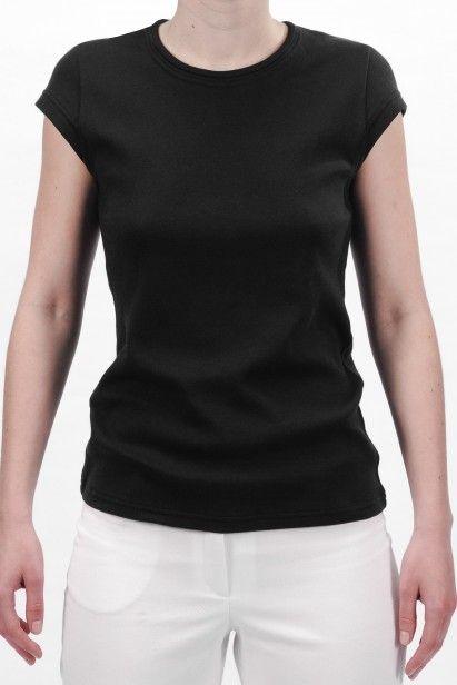 TS 003 W | Tričko s kulatým výstřihem a krátkými rukávy z biobavlny - Biomee