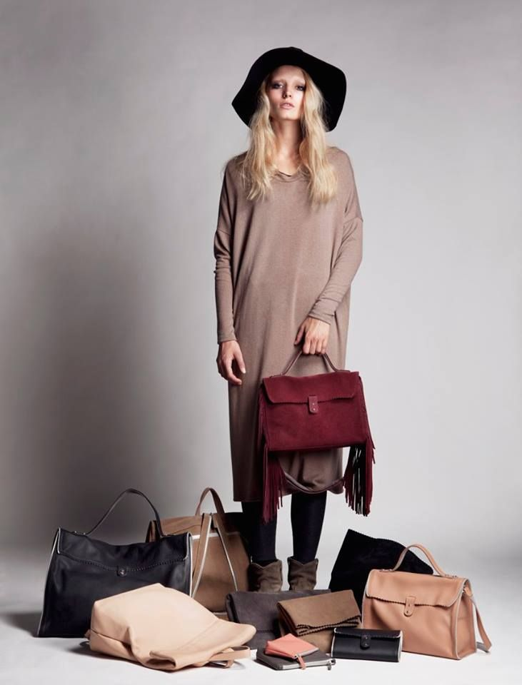 RIEN #LEATHERBAGS Collection Fall/Winter 2016/17. A stylish woman can't leave the house without the perfect finishing touch. Discover more online!