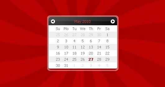 Javascript Calendar & Datepicker