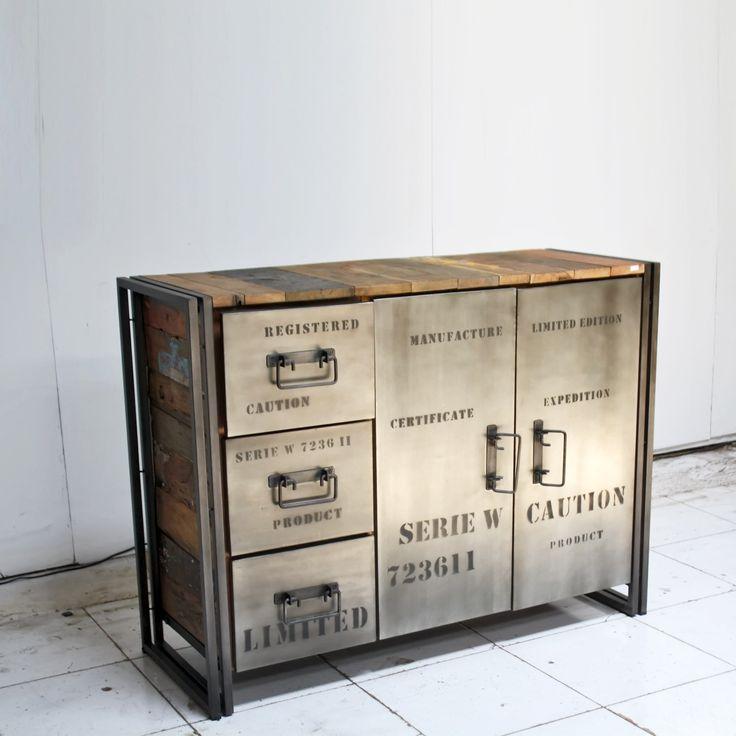 Les Poeles À Bois Les Plus Performants - Plus de 1000 idéesà propos de Rue de Siam meubles design industriels sur Pinterest Buffet