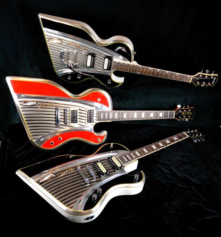 IdeaFixa » As guitarras de Ali Kat são feitas com partes de carros antigos