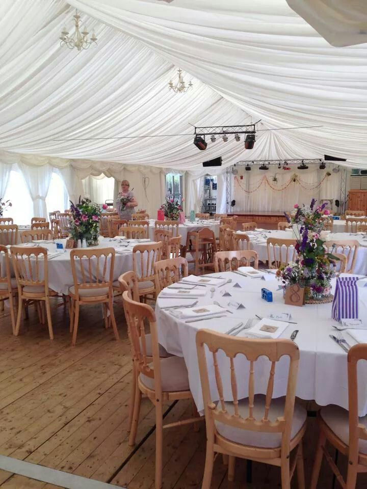Inside the marquee 17 best our wedding