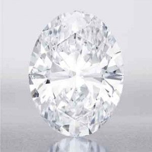 118.28-ct-Oval The diamond, described as an egg in both size and shape, is the largest D color Flawless diamond ever to appear at auction. It was discovered in Southern Africa in 2011, and the winning bidder will receive naming rights. This magnificent diamond is estimated to sell for $28 to $35 million, which would be the highest price paid for a white diamond at auction. T(Update: final sale price was $30,6000,000.  A new record)