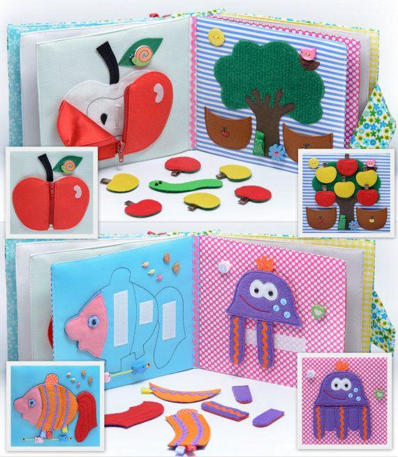 Ruhigen Kinderbuch Buch beschäftigt Eco-Friendly von MiniMoms