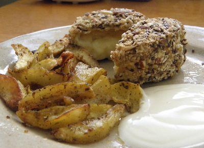 Fitness as a lifestyle ♥: Hermelín pečený v semínkové krustě