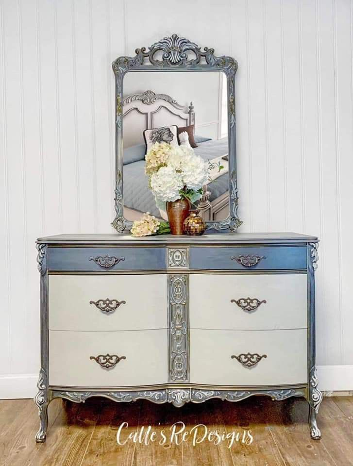 Pin By Joann Ottens On Chalk Paint Dresser Colorful Furniture