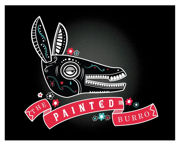 The Painted Burro by ICS Creative , via Behance