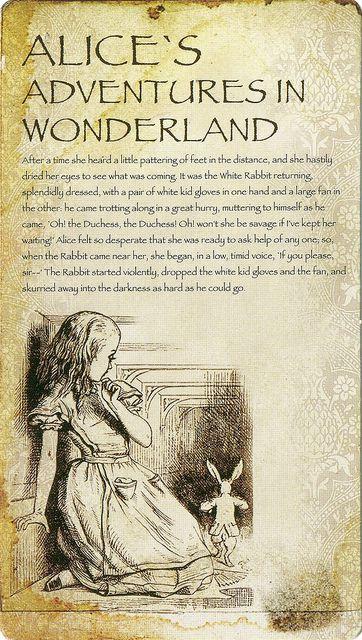 'Alice's Adventures in Wonderland' (Lewis Carroll) by John Tenniel