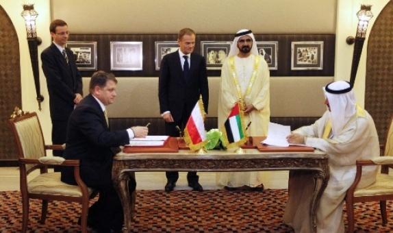 podsumowanie wizyty w Zjednoczonych Emiratach Arabskich