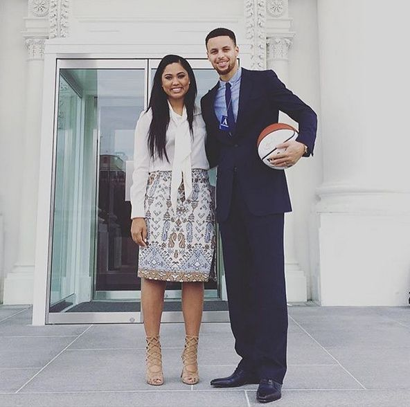 The Currys at The White House