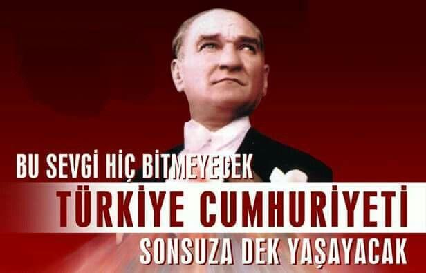 Bu sevgi hiç bitmeyecek! 29 Ekim Cumhuriyet Bayramı Kutlu Olsun... #29ekim #cumhuriyetbayrami #kutluolsun
