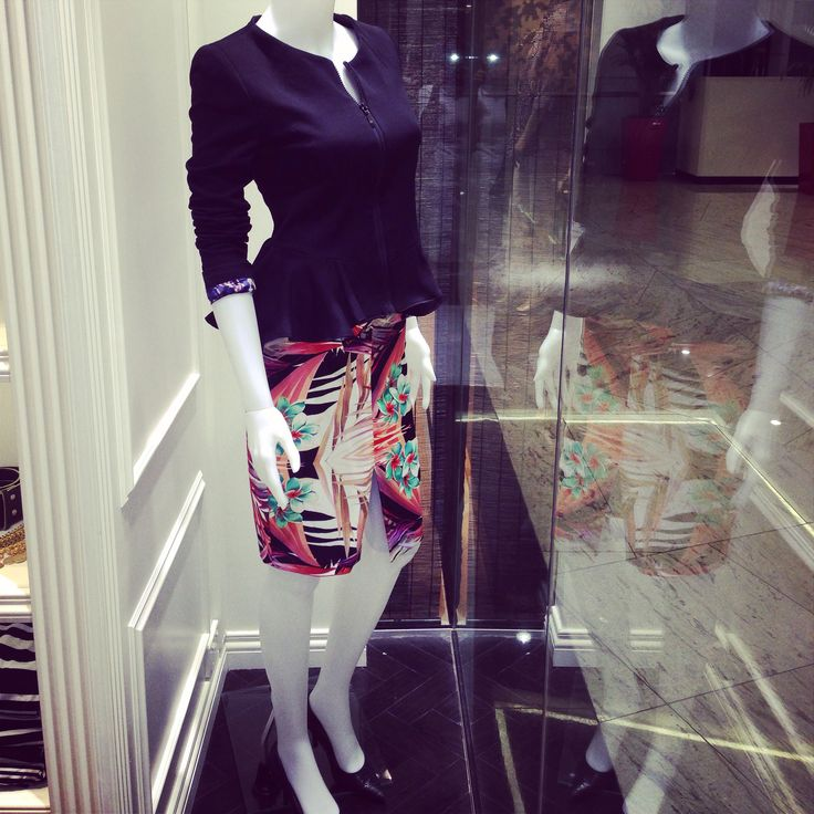 Mighty pencil skirt with Suit Yourself jacket
