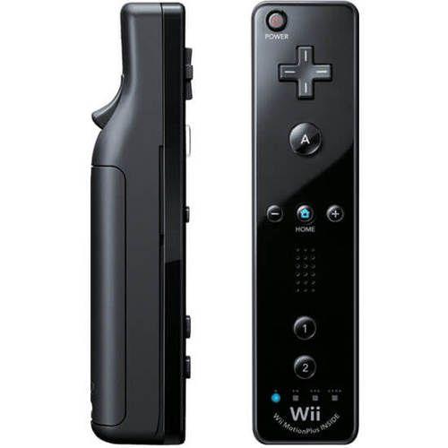 Original Black Wii Motion Remote Controller - Wii