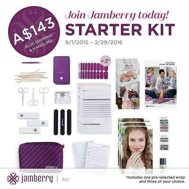 Join my team. Get your starter kit for an amazing  $143 look at everything you get to start you on your new adventure!  Www.jamwithhel.jamberrynails.com