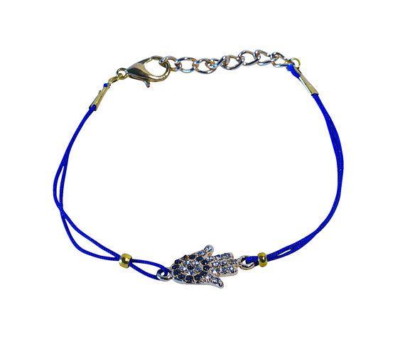 SoulSisters Hamsa Hand Armband Marineblau von SoulSistersSchmuck