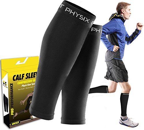 SHIN Attelles Mollet Manchon de compression – Hommes & Femmes – Bas de contention pour la course à pied basket-ball Cyclisme pour Femme –…