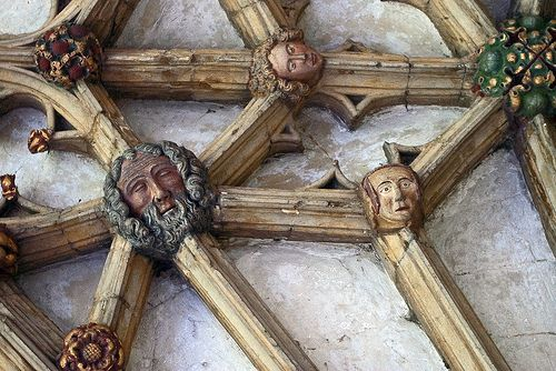 Roof boss in the Cloisters; Canterbury Cathedral, Kent. | Flickr - Photo Sharing!