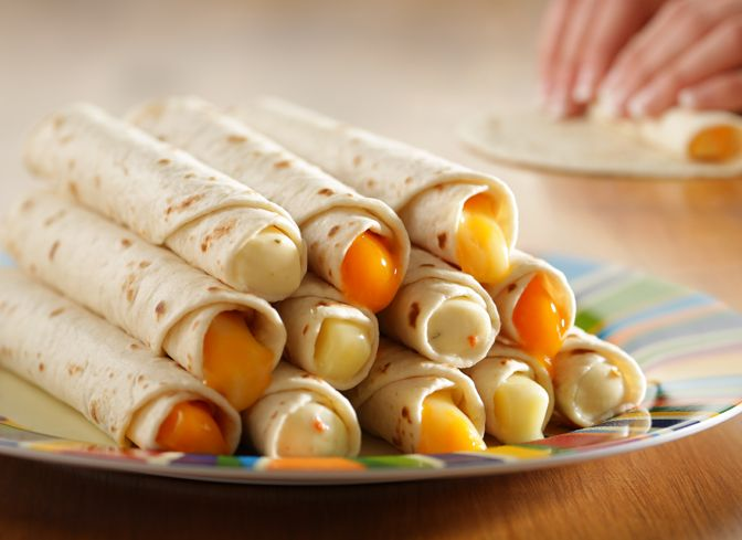 Ready to get on a roll? These tasty soft tortilla rolls take only a few seconds to make. But they taste like you cooked all day!