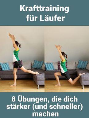 Krafttraining für Läufer: 8 Übungen, die dich stärker und schneller machen – Yvonne Schulze