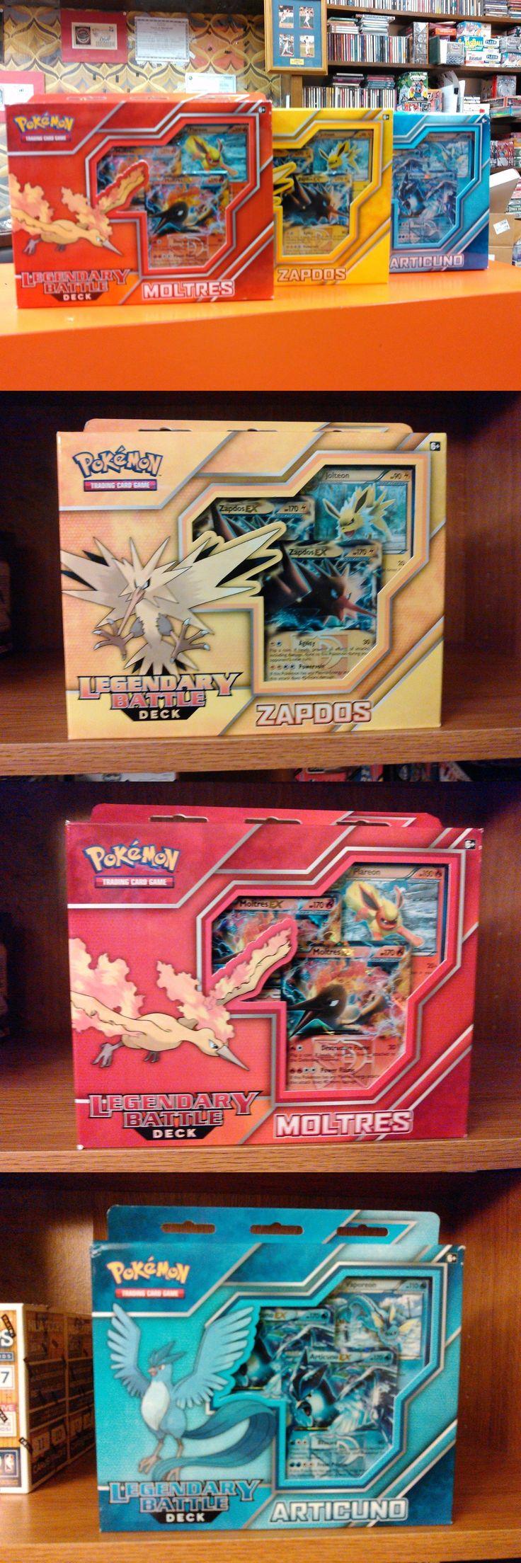 Pok mon Sealed Decks and Kits 183467: Lot Of (3) Pokemon Legendary Battle Decks Zapdos Articuno Moltres Box (3) Boxes -> BUY IT NOW ONLY: $49 on eBay!