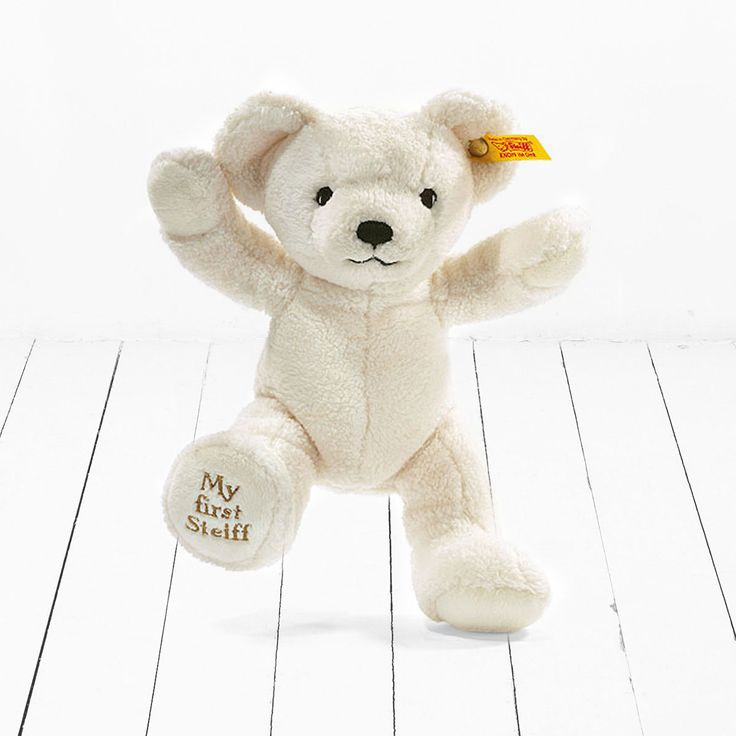 My First Steiff Bear - Cream | Cuddly Toys | Babyblooms