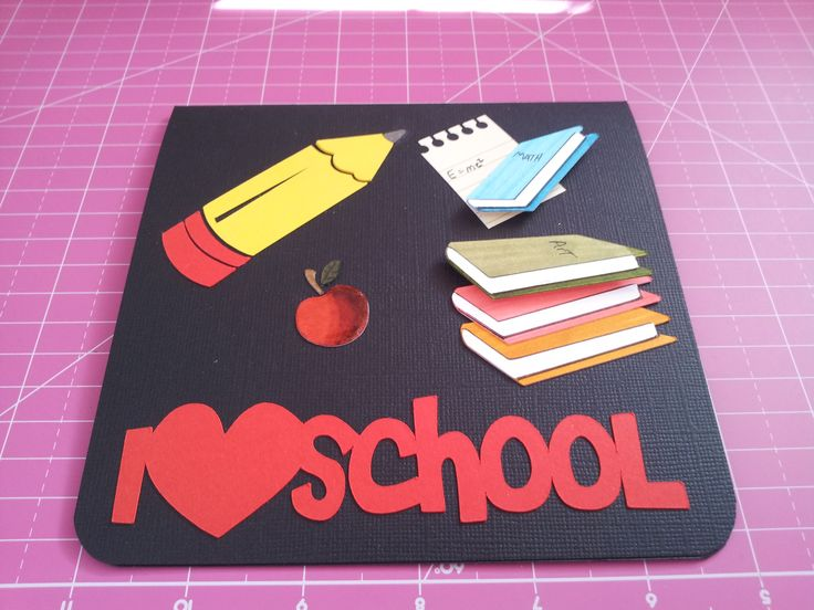 Back to school card 2 my greeting cards pinterest school m4hsunfo