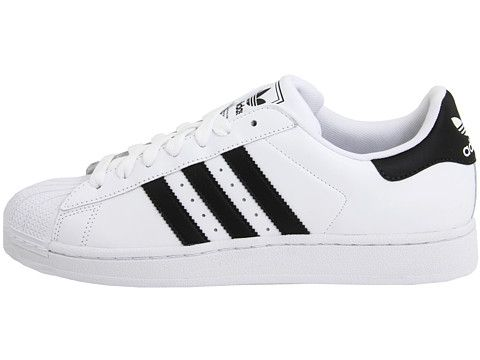 zapatillas adidas superstar 2 cuero blancas oro Moda