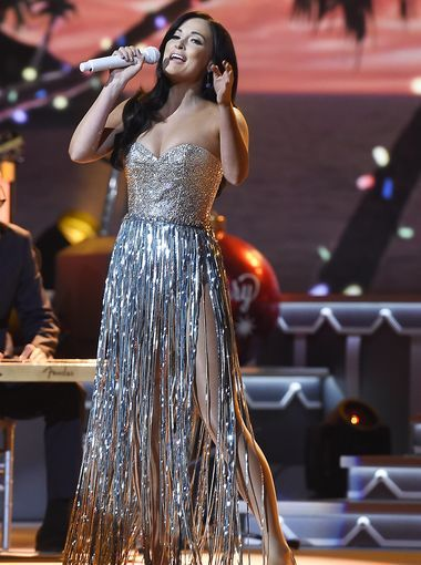 Kacey Musgraves performs at the CMA Country Christmas