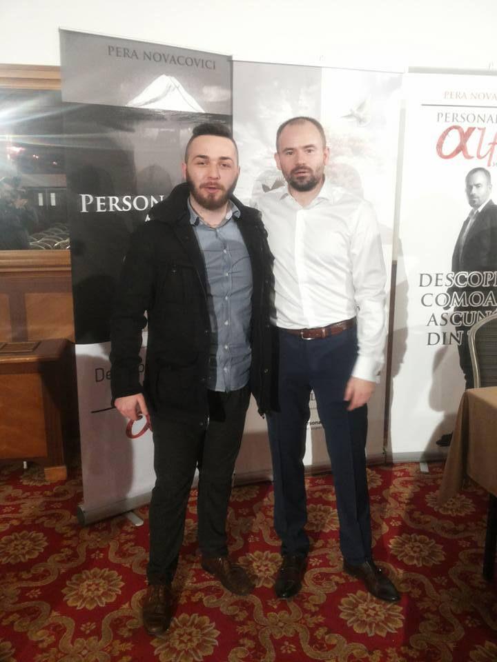 ' Printre greutăţi spre stele '   #With Pera Novacovici; #At Crystal Palace Ballrooms Events, Bucuresti   www.talosdarius.ro   http://personalitatealfa.com/