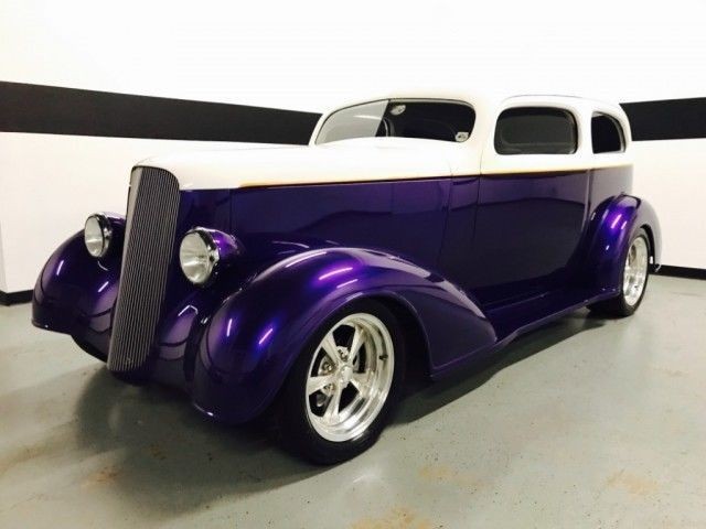 Nice Awesome 1936 Chevrolet Street Rod Master Deluxe 2-Door Sedan  1936 Chevy Street Rod LT1 Engine! A/C! AVS Air Ride! Magazine Cover! Super Nice! 2017 2018