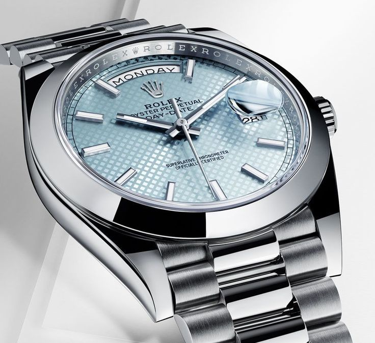 """Rolex Day-Date 40 Watch With New Rolex 3255 Movement - by David Bredan - see more about the Crown's newest bombshell - now on aBlogtoWatch.com """"The Rolex Day-Date 40 marks the update for what officially is called the Oyster Perpetual Day-Date, featuring """"a modernized design with a 40 mm case"""" and a new movement, caliber 3255. The Rolex Day-Date 40 will be available exclusively in 950 platinum, 18k yellow, white or Everose gold. Size-wise, this new version replaces the Day-Date II's 41…"""