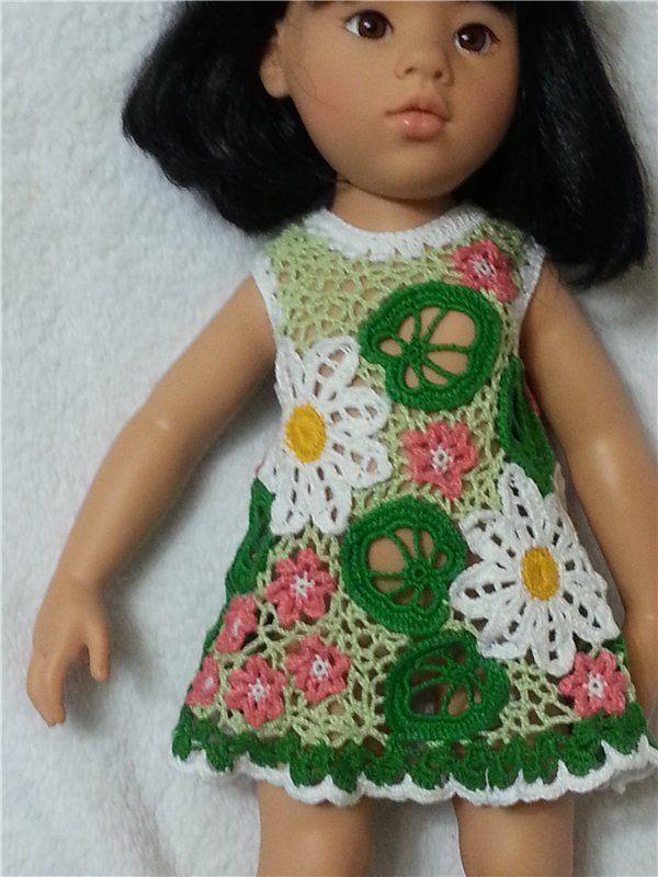 Ирландское кружево для куколки (ГОТЦ) / Одежда и обувь для кукол - своими руками и не только / Бэйбики. Куклы фото. Одежда для кукол