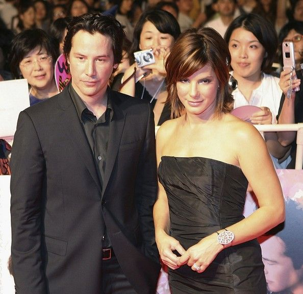"Keanu Reeves Photos: Keanu Reeves And Sandra Bullock Promote ""The Lake House"""