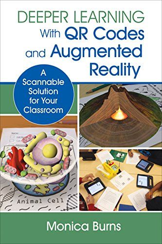 """QR Codes   Augmented Reality   Excited to have my book #ScannableTech featured on @terryfreedman's """"ICT & Computing in Education"""""""