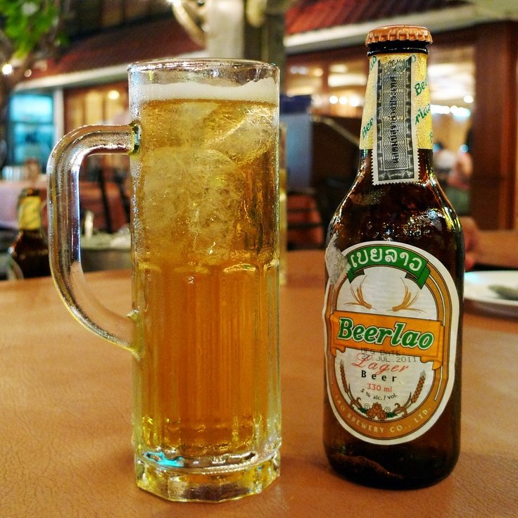 Beer Lao @ Yod Lab Ped Udon