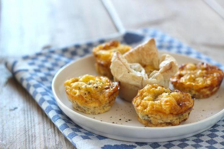 Zin in een simpel maar lekker ontbijtje/lunch? Probeer dan eens deze ei-muffins.