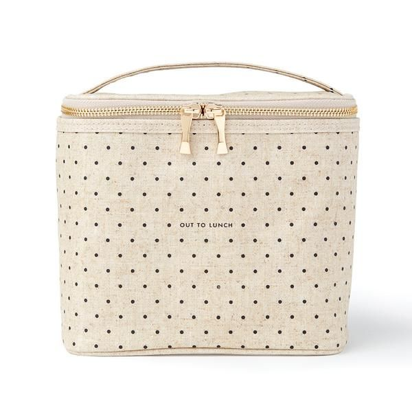 """looking for an insulated lunch tote for work -- kate spade new york """"out to lunch"""" tote"""