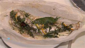Recept: wijting (vis) met kruiden bij de absint
