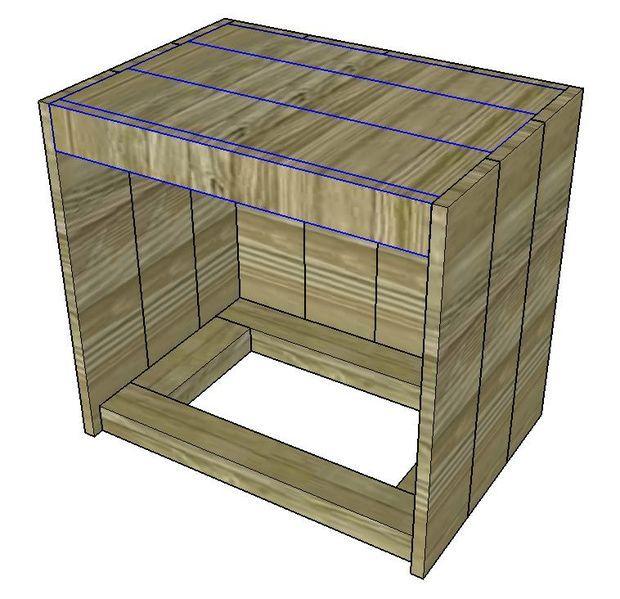 1000 id es propos de construire une table sur pinterest canap rustique tables basses. Black Bedroom Furniture Sets. Home Design Ideas