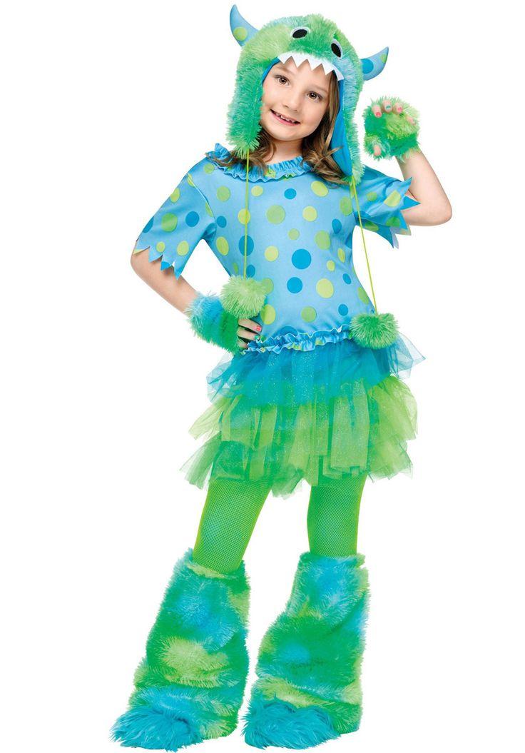 Costume da Miss Mostro, per Bambina | Costumi Halloween Bambini | Escapade®