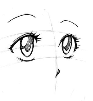 Astuce Manga : Dessiner les visages | L'atelier Canson                                                                                                                                                                                 Plus