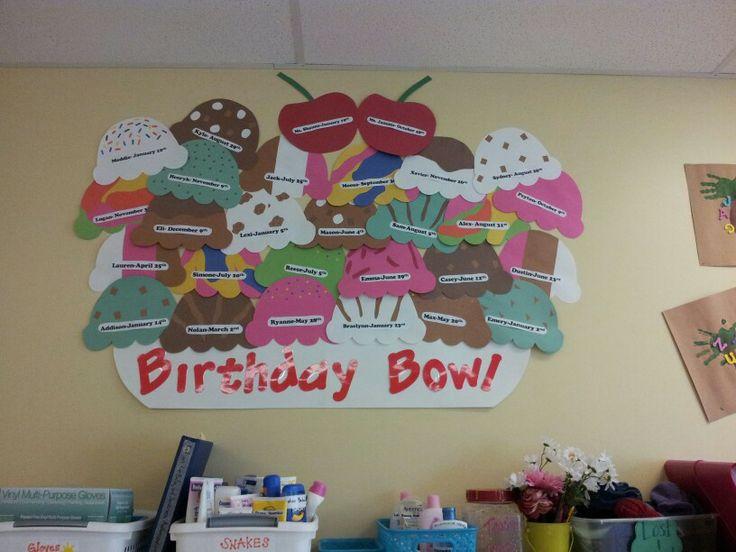 Preschool Birthday Board | Classroom Ideas | Pinterest
