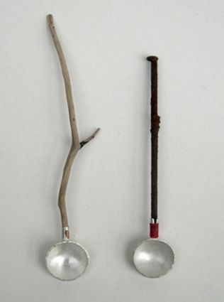 Contemporary British Silversmiths » Stuart Cairns - teaspoons