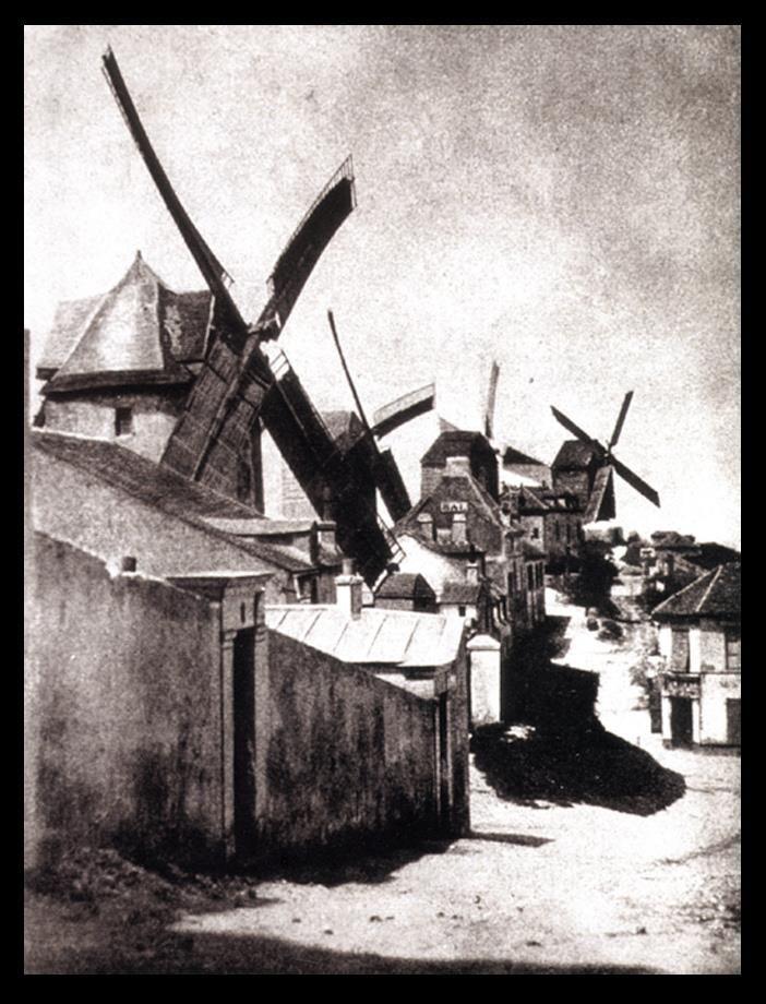 Hippolyte Bayard, Montmartre, Paris, 1839.