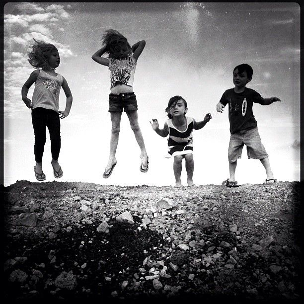 Rock n Roll Baby! #jump #purehipstamatic