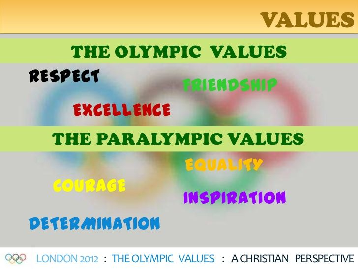 The Olympic Games , will always be a tournament of PEACE !   All sports have Values !