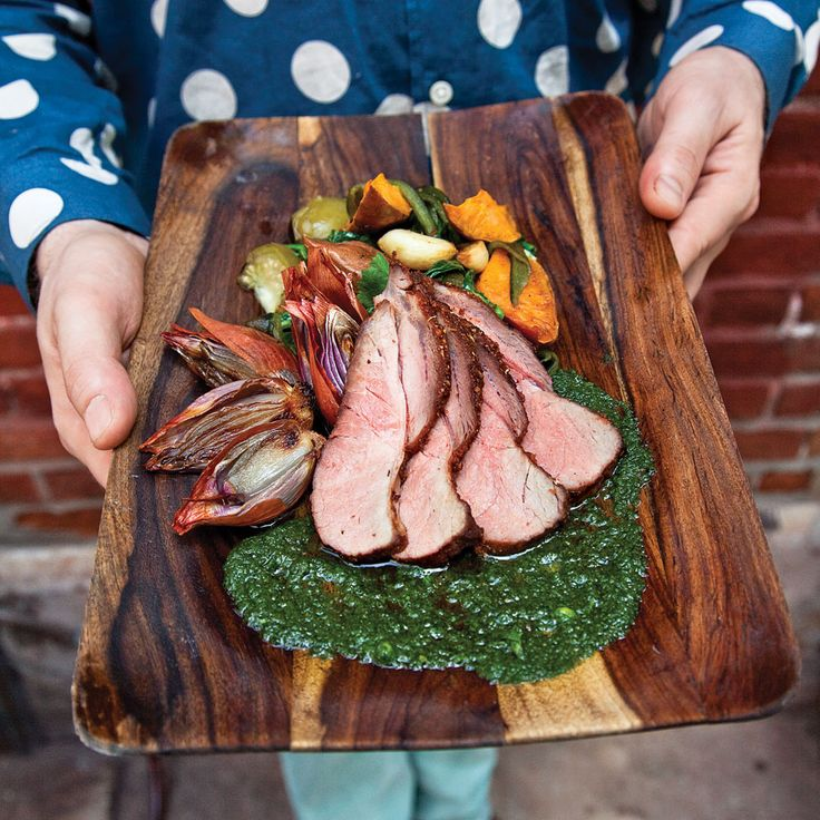 Roast Pork with Summer Vegetables Recipe | SAVEUR