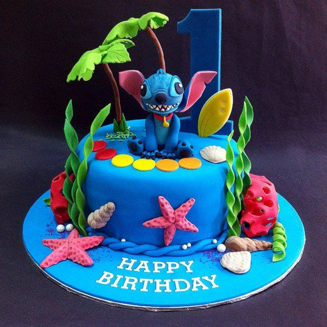 26 Best Stitch Cakes Images On Pinterest Lilo Stitch
