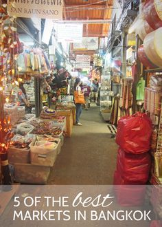 5 of the Best Markets in #Bangkok #thailand #travel - Looking forward to wandering through these markets later this year when we are in Bangkok - TheOpportunisticTravelers.com