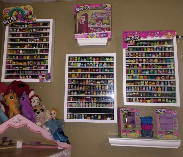 17 best images about natalie 39 s shopkins on pinterest for Display bedroom ideas